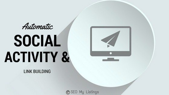 Automatic social Activity and Link building