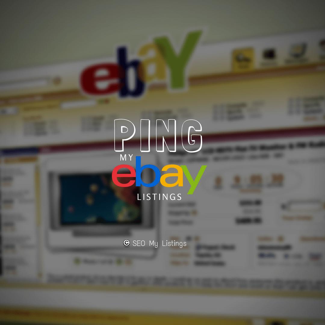 Ping My eBay Listings