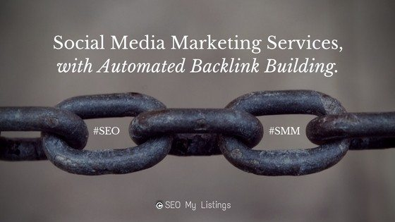 Social Media Marketing Services with Automated Backlink Building
