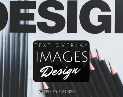 Graphic Design - Image Overlay Design