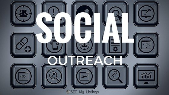 social media marketing - social outreach